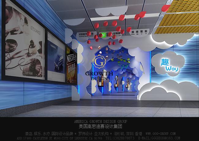 项目名称:深圳罗湖地铁商业街 Shenzhen Luohu Commercial Street Subway 设计单位:美国高思迪赛设计集团 罗伟设计亚太机构 项目地址:广东 深圳 项目风格:新中式 关键字:商业设计,公共空间设计,店铺装修,空间规划设计