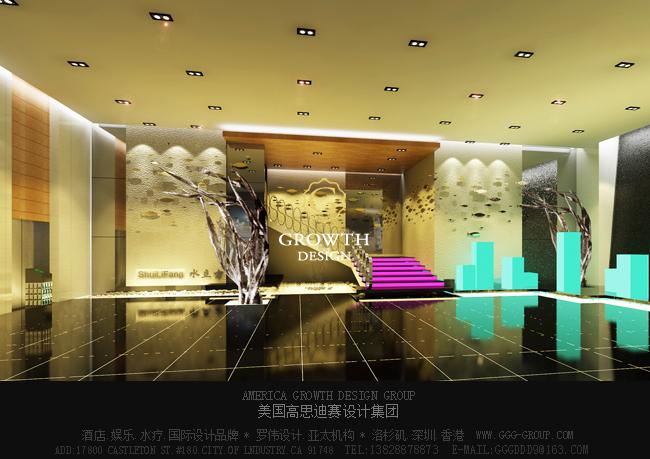 广东韶关国际水立方水疗会所设计