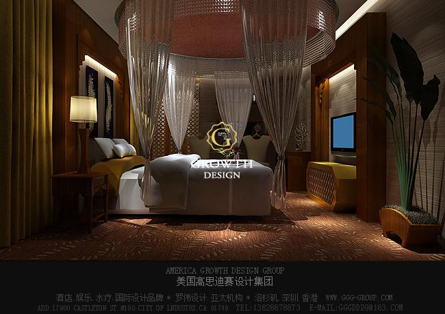 高思迪赛深圳鸿泰洋国际水会vip休息室设计