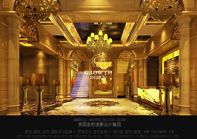 ktv大厅和走廊设计图