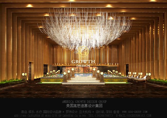大厅吊灯设计